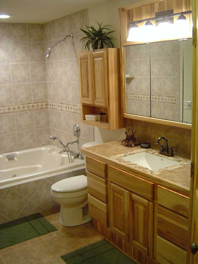 Winneconne finished bathroom by Noffke One Custom Built